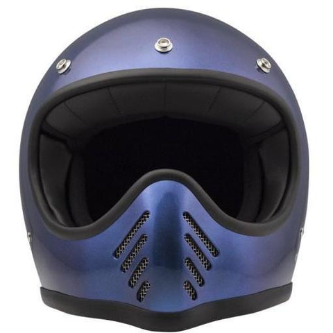DMD SEVENTYFIVE FULL FACE HELMET - METALLIC BLUE - DMD
