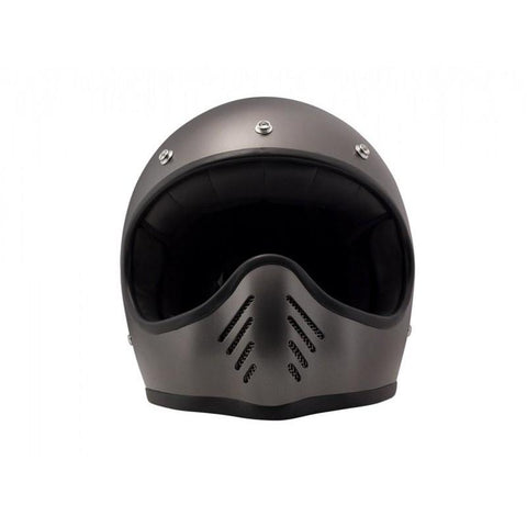 DMD SEVENTYFIVE FULL FACE HELMET - METALLIC GREY - DMD
