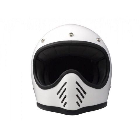DMD SEVENTYFIVE FULL FACE HELMET - WHITE - DMD