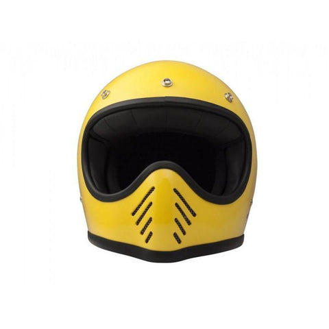 DMD SEVENTYFIVE FULL FACE HELMET - YELLOW - DMD
