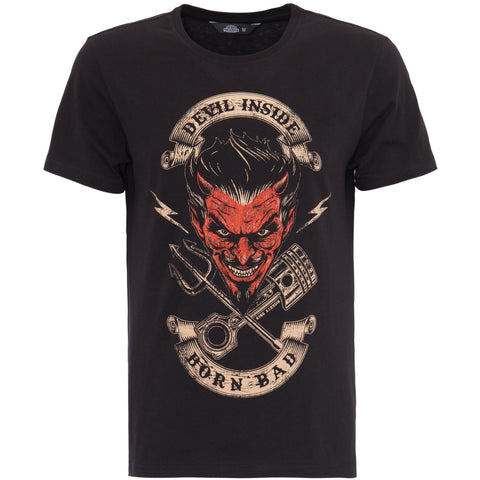 KING KEROSIN DEVIL INSIDE T-SHIRT - King Kerosin