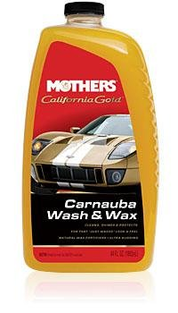 Mothers - California Gold® Carnauba Wash & Wax - Mothers