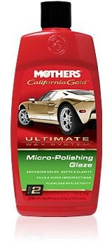 Mothers - California Gold® Micro-Polishing Glaze – Step 2 - Mothers