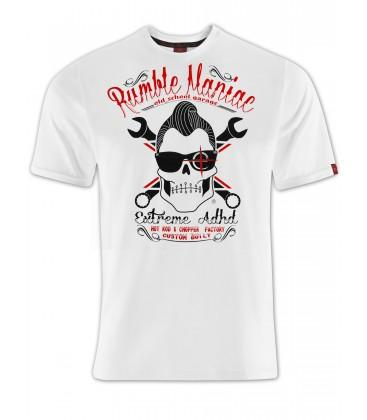Rumble Maniac - White - Motorcycle Performance