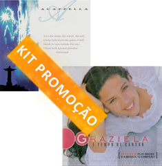 "Kit Promocional: CD ""Acappella Resurrection"" + CD ""Graziela"""