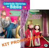 "Kit - ""Personagens Bíblicos"" + ""Ester"""