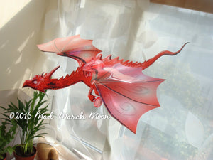 Large Single Dragon Mobile 12 colours available