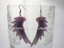 Dragon Scale Wing earrings Snow Queen