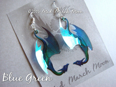 Micro Dragon Earrings