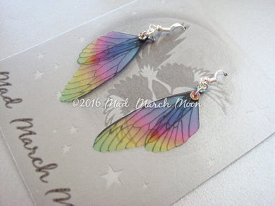 Mini Fairy Wing earrings 'Jelly Tot'