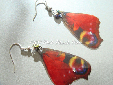 Peacock Butterfly Earrings