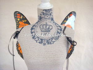 Monarch Butterfly Costume Wings small adult size