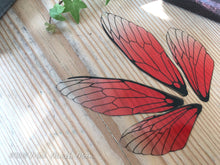 Fairy wings for craft 'Cherry Kiss' Large