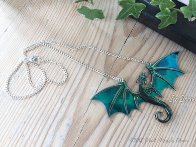 Dragon Necklace, Ice Storm