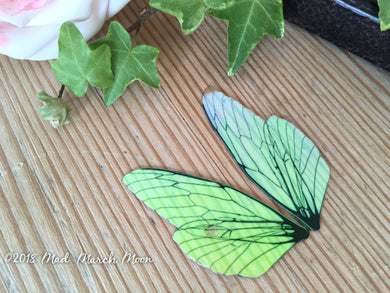 Mini Fairy wing set for crafts Plain Iridescent