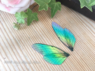 Mini Rainbow Fairy wing set for crafts