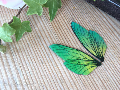Mini Absinthe Fairy wing set for craft