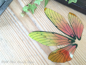 'Fall Flame' Fairy wings for craft, Large size