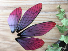 Fairy wings for craft 'Very Berry' Large