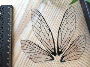 Fairy wings for craft Plain 'Glass' Large