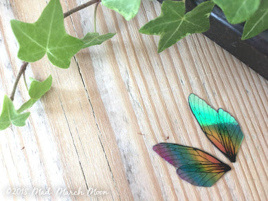 Tiny 'Micro' Rainbow Fairy wing set