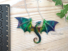 Dragon Necklace, Rainbow Clouds