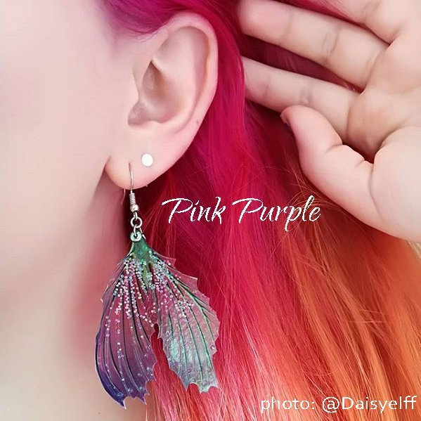 Mermaid Tail Fin Earrings