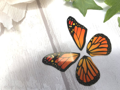 Monarch Butterfly craft wings