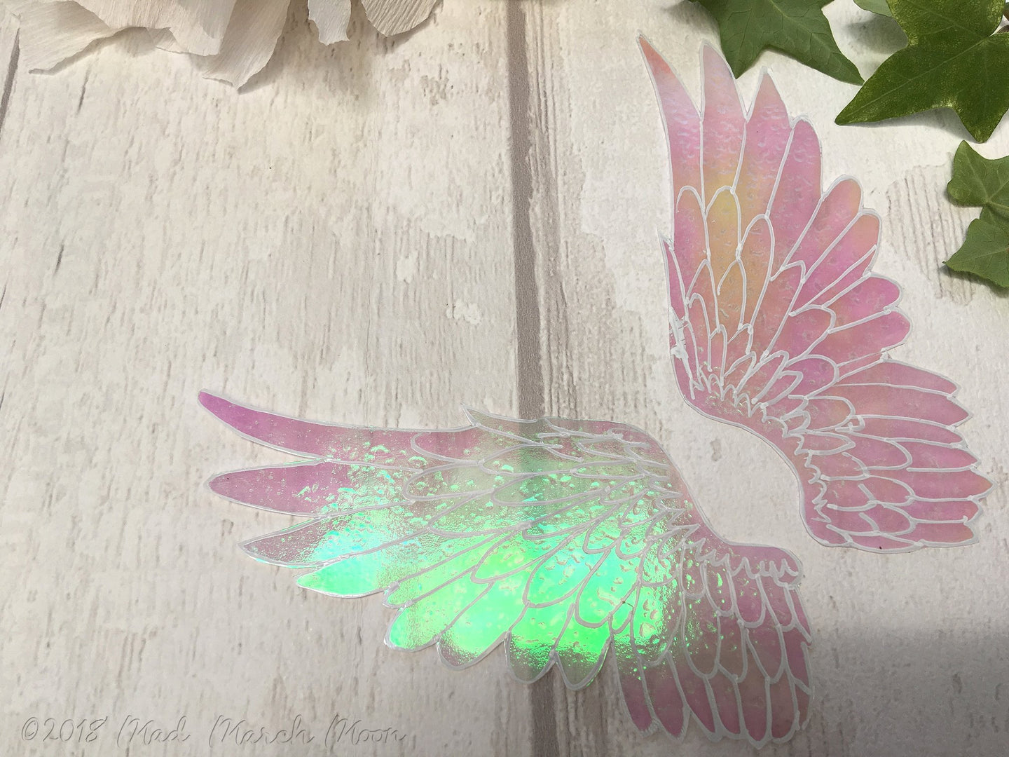 Angel wings for crafting, large size.