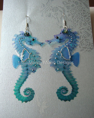 Seahorse earrings various colours