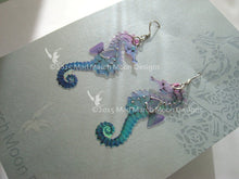 Micro Seahorse earrings