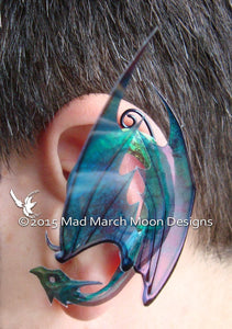 Dragon Ear Cuffs, 8 Colours  non pierced