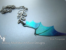Dragon Wing Lariat Necklace choose your colour