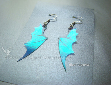 Mini Dragon wing earrings