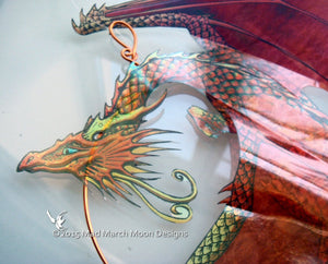 Dragon Suncatcher 9 different colours