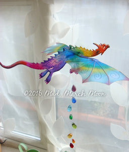 Single Small Dragon Mobile 12 colours available