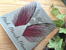 Fairy wings for craft 'Rose Glow' Large