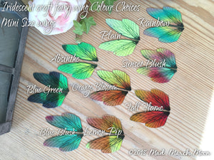 Fairy wing set for craft Sunset Blush, Large