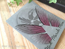 Fairy wings for crafts 'Rose Glow' Medium
