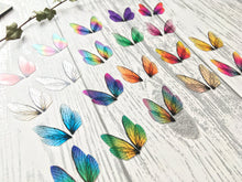 Micro fairy Wings for Craft, wide range of colours, multibuy discount available