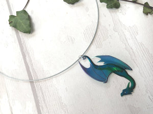 Micro Dragon Necklace