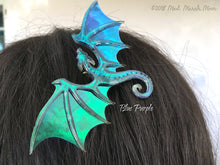 Dragon Bobby Pin, choose from 9 Colours,