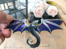 Dragon Necklace, Purple Midnight