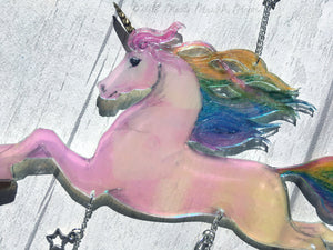 Unicorn Mobile Pastel Rainbow