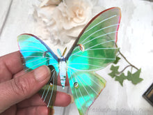 Faux Luna Moth for craft, Large