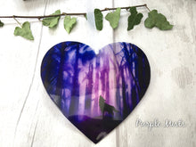 Wolf Heart Suncatcher