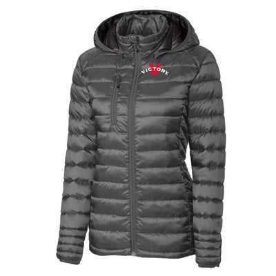 Victory Ladies Puffy Jacket - Grey
