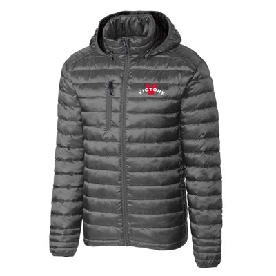 Victory Men's Puffy Jacket - Grey