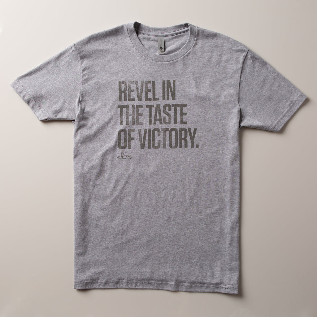 Victory Revel Tee | Heather Grey