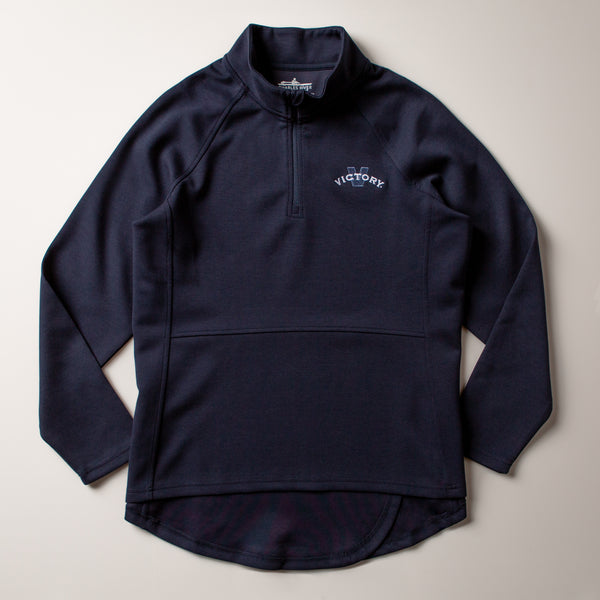 Victory Women's 1/4 Zip | Navy